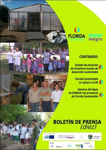 BOLETIN 10 - Intendencia Municipal de Florida