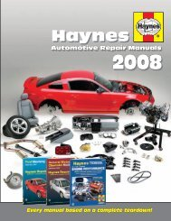 Haynes Haynes - Haynes Repair Manuals