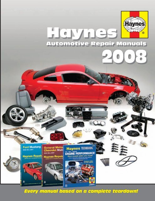 haynes haynes - haynes repair manuals  yumpu