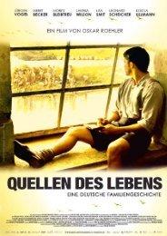 Presseheft QUELLEN DES LEBENS - Filmladen