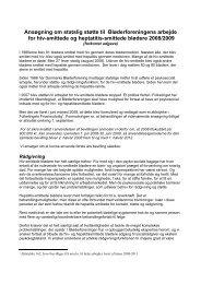 Læs ansøgning (forkortet version) - Danmarks Bløderforening.