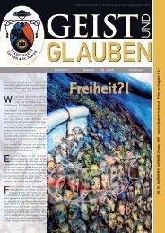 GEIST und GLAUBEN, Oktober 2009 - Montanuniversität Leoben