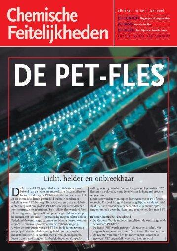 DE PET-FLES - Chemische Feitelijkheden