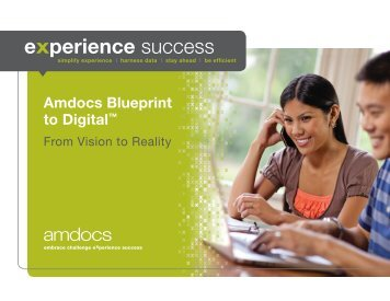 Amdocs Blueprint to Digital™