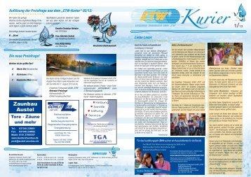 Kurier - Erzgebirge Trinkwasser GmbH ETW