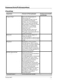 Checkliste - Reiterring Badische Pfalz eV