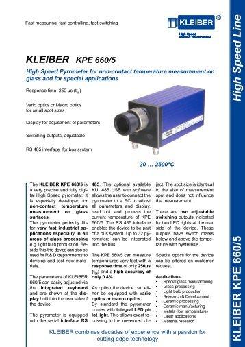 High Speed Line KLEIBER KPE 660/5 - Delta Strumenti S.r.l.