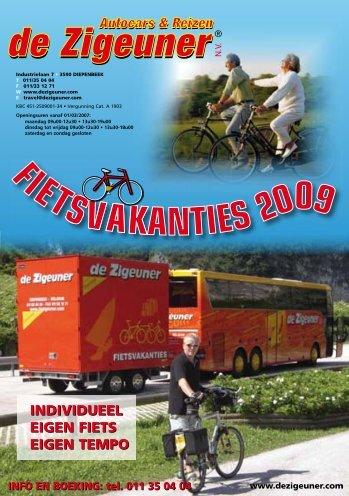 152764_Fietsfolder_2009.indd 1 19-11-2008 18:21:14 - De Zigeuner