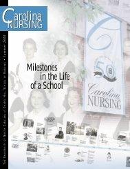 Carolina Nursing, Summer 2000 - School of Nursing - University of ...