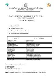 Documento 15 Maggio 5A SIRIO 2012