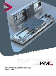 Katalog - KML Linear Motion Technology GmbH
