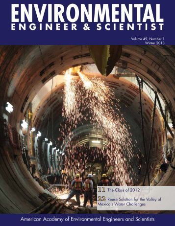 Download Issue - American Academy of Environmental Engineers ...