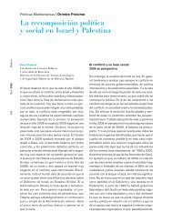 La recomposición política y social en Israel y Palestina - IEMed