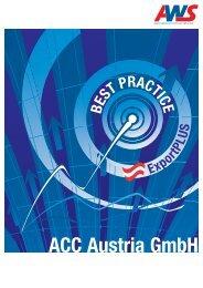 ACC Austria Gmbh - Arbeitsgemeinschaft Wirtschaft und Schule