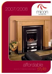 Micon Fireplaces - Bpm Supplies