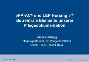 Präsentation H. Zurbrügg 15.5.2012.pdf - Netzwerk Pflegediagnosen