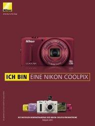 COOLPIX-Produktreihe Frühjahr 2013 - Nikon