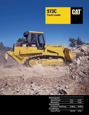 973C Track Loader - Kelly Tractor