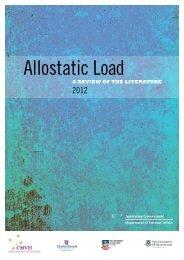 Allostatic Load - Department of Veterans' Affairs