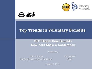Top Trends in Voluntary Benefits - Flagg Management Inc