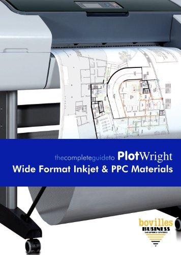 PlotWright - Papers For Inkjet Plotting and Plain Paper Plan Printing