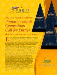 Pinnacle Awards Competition Call for Entries - International ...