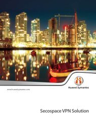 Secospace VPN Solution - Utopia Technology