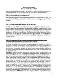 Protokoll vom 23.Januar 2013 - Nußloch