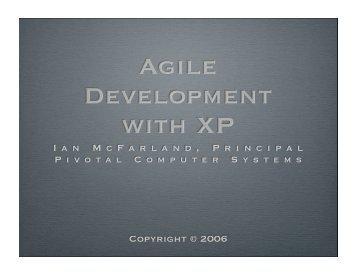 Ian MacFarland's XP slides
