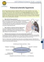 Pulmonal-arterielle Hypertonie - LOT