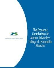 economic impact - Marian University