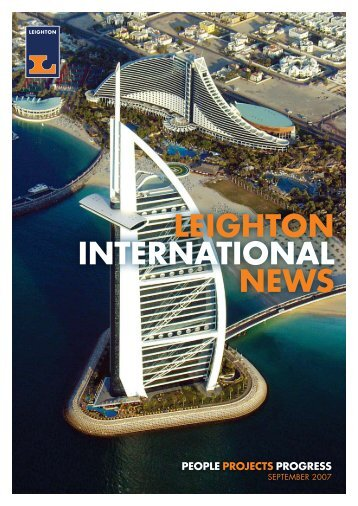 Leighton International News, September 2007 - Leighton Holdings