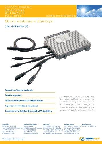 Micro onduleurs Enecsys - Solarex