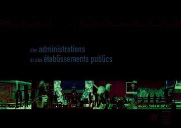 Guide des administrations et des établissements publics Eco