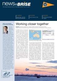 Working closer together - Brise Schiffahrts-GmbH