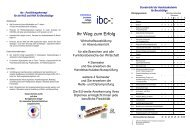 info-folder - International Business College Hetzendorf