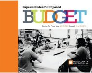 2013-14 Superintendent's Proposed Budget - Wake County Public ...