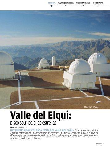 Valle del Elqui: - Travesías