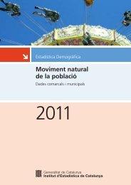 Idescat. Moviment natural de la població 2011. Dades comarcals i ...