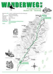 Von Aschau nach Sachrang