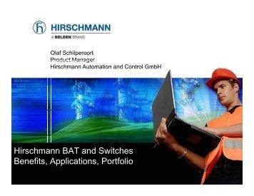 Hirschmann BAT and Switches Benefits Applications ... - Klinkmann.