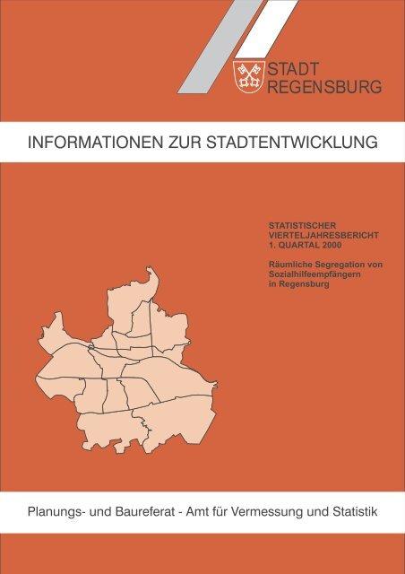 informationen zur stadtentwicklung - Statistik.regensburg.de - Stadt ...
