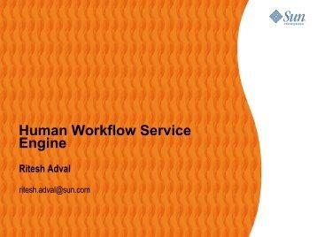 Human Workflow Service Engine - Open ESB Wiki