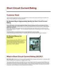 Short Circuit Current Rating (225k) - EIS