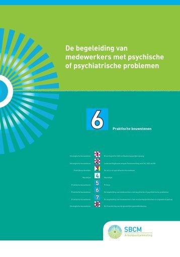 De begeleiding van medewerkers met psychische of ... - SBCM