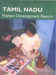 Tamil Nadu 2003 - of Planning Commission