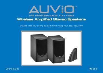 Amazon.com: Auvio Wireless Stereo Headphones: Electronics