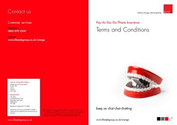 Terms and Conditions - Lifestyle Services Group Ltd