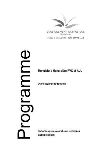 Menuisier / Menuisière PVC et ALU