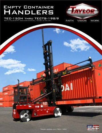 Empty Container Handlers Brochure - Taylor Machine Works